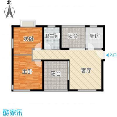 上海顺寓国际社区--13套户型2室1厅1卫1厨