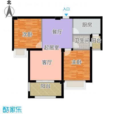 东方今典中央城98.79㎡二期3号楼住宅C户型