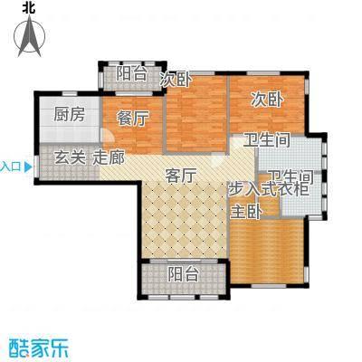 三川御锦台143.40㎡B5户型