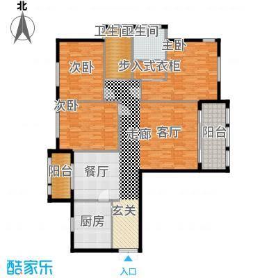 三川御锦台142.40㎡B6户型