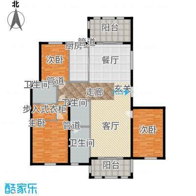 三川御锦台183.26㎡C1户型