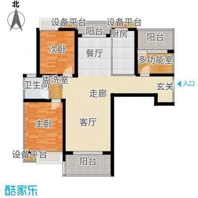 楚汉汇景国际115.53㎡D户型