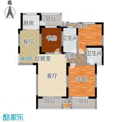 建业凯旋广场144.65㎡A-3户型