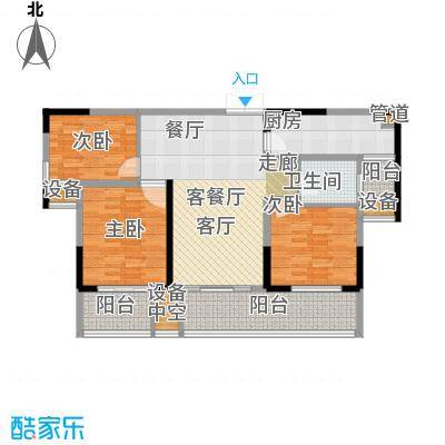 建业凯旋广场111.26㎡C-2户型