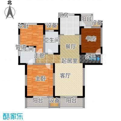 建业凯旋广场143.26㎡A-1户型