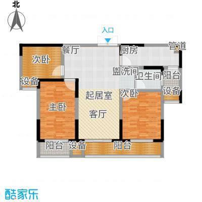 建业凯旋广场122.49㎡D-2户型