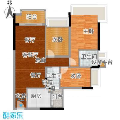 雅居乐海南清水湾110.00㎡幸福万象-03户型