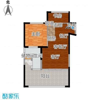 雅居乐海南清水湾109.95㎡SA3栋A户型