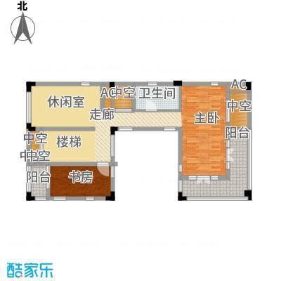 鲁能三亚湾90.00㎡高3区企业会所A2型四层户型