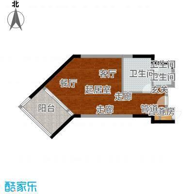 雅居乐海南清水湾79.31㎡翰海银滩洋房SA3栋-D户型