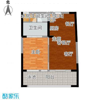 雅居乐海南清水湾94.08㎡翰海银滩洋房SA3栋-C户型