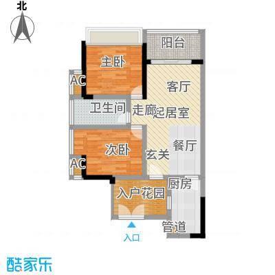 京海成鹿港溪山京海成・鹿港溪山2、3栋A4户型