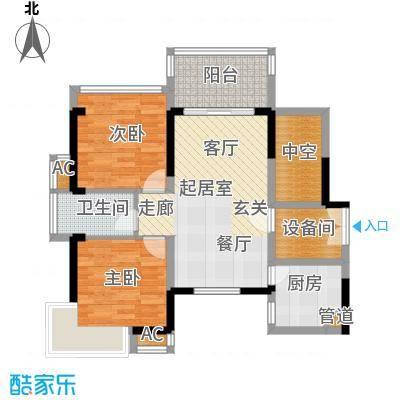京海成鹿港溪山京海成・鹿港溪山9、10栋A1户型