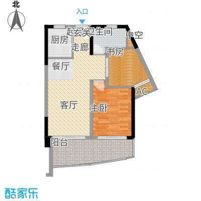 鲁能三亚湾美丽三区二期C楼户型
