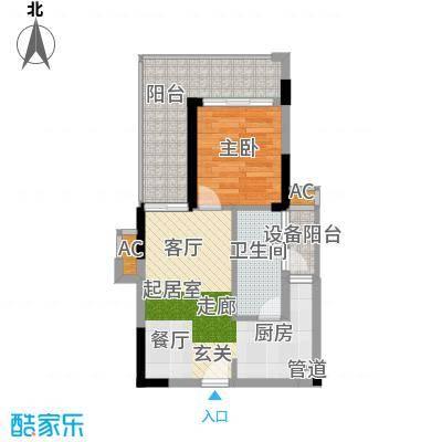 京海成鹿港溪山京海成・鹿港溪山9、10栋A2户型