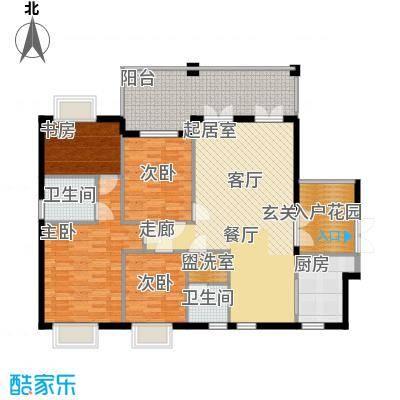 碧阳国际城143.77㎡H户型
