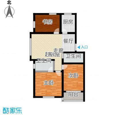 华新家园87.16㎡A-1/A1-1户型
