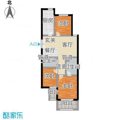 锦绣豪庭五号楼Q户型