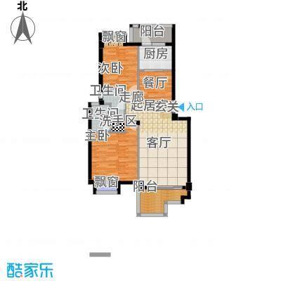 桂林奥林匹克花园96.07㎡花园洋房B户型
