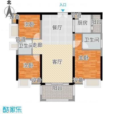 中信凯旋城别墅112.00㎡高层B1栋C-2户型
