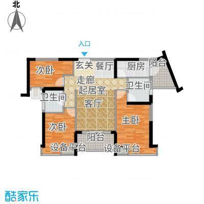 东凤海伦春天11.25㎡4座01单位户型