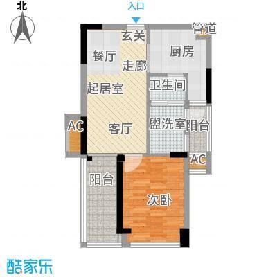 京海成鹿港溪山京海成・鹿港溪山11栋A2户型