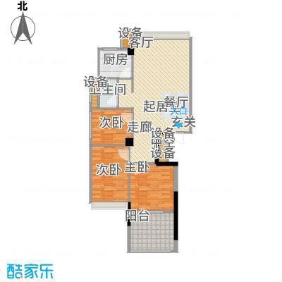锦绣江南94.49㎡1幢5-17层04户型