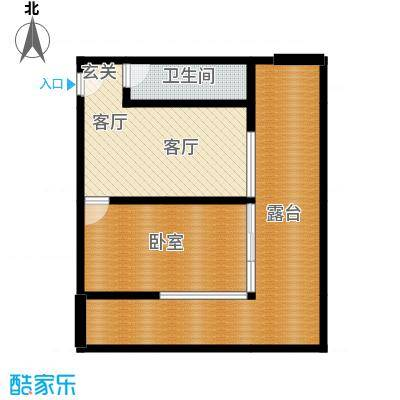 武陵山国际商贸城酒店E户型