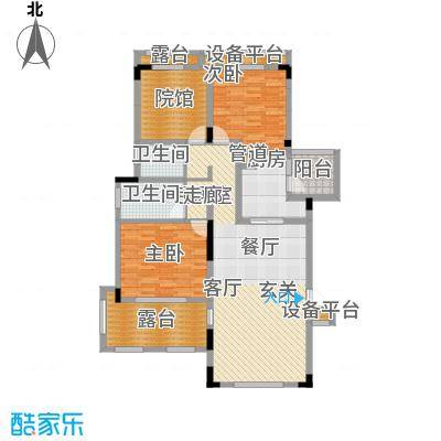 金科天湖小镇114.00㎡三期39/41/43/49/51/53/55号楼标准层D1户型