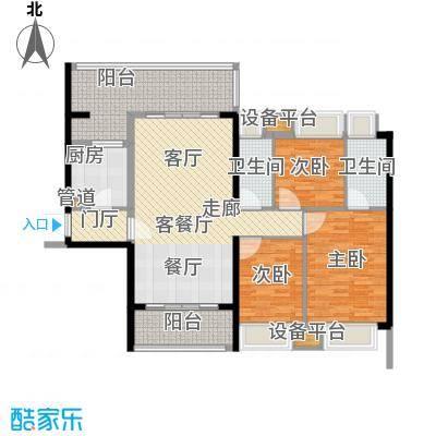敏捷锦绣明珠116.60㎡敏捷・锦绣明珠14座03户型