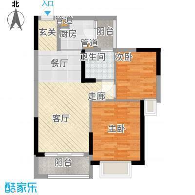 卓越时代广场71.38㎡A3户型