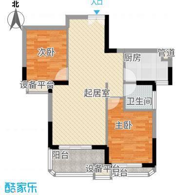 永鸿御景湾85.00㎡65#楼户型