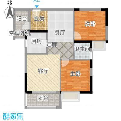 水岸新城91.00㎡水岸・新城1/2/3/4#楼B户型
