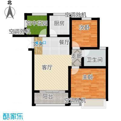 冠景凯旋门92.78㎡冠景・凯旋门56#A1户型