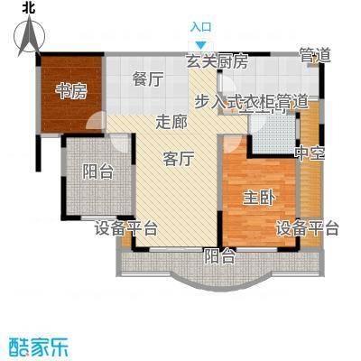 两淮融景苑104.04㎡D4户型