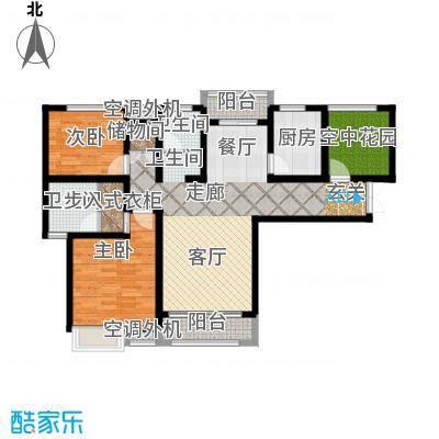 冠景凯旋门119.99㎡冠景・凯旋门9#C1户型
