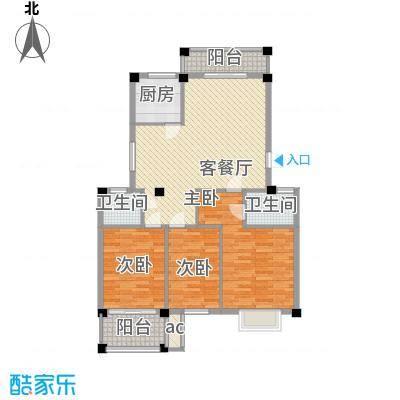 上河城102.56㎡D1户型