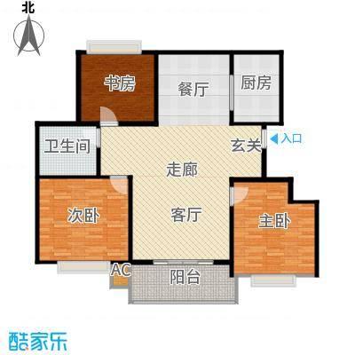 温哥华城时代公寓110.00㎡温哥华城・时代公寓110平面图户型