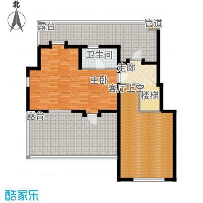 书香门第洋房A3跃层平面图户型