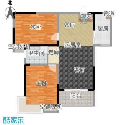 海泉时代广场92.76㎡海泉・时代广场C户型
