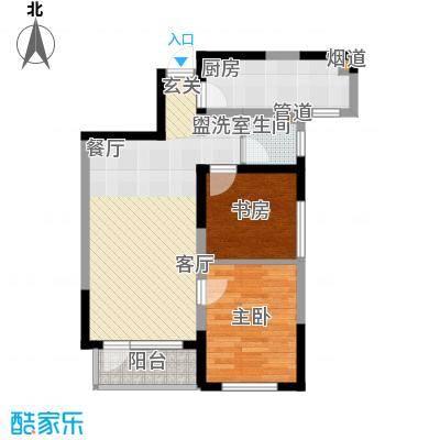 华茂中心79.00㎡央府高层户型