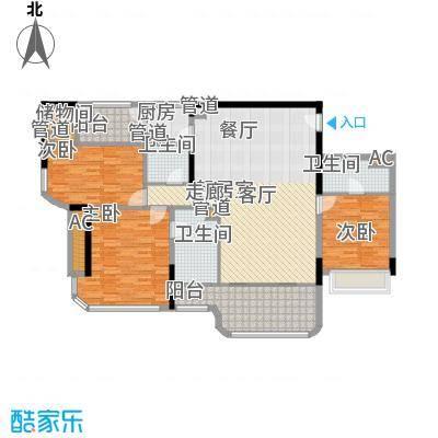 碧桂园金海湾136.94㎡J533-H户型