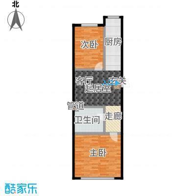 森晟江湾馨城93.80㎡5号楼标准层户型