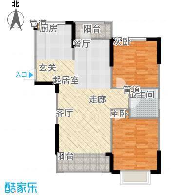 吉东托斯卡纳98.00㎡二期43号楼标准层N2户型
