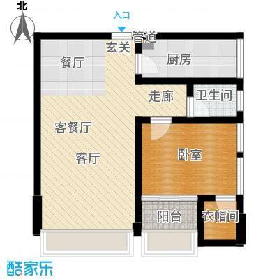 武陵山国际商贸城公寓A户型