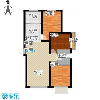 御龙湾112.92㎡B1B2号楼3-33层A1A2号楼3-25层B6户型
