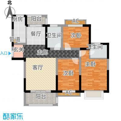 广弘城国际社区J户型