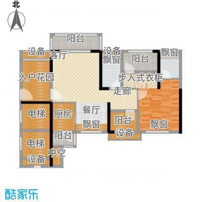 龙光海悦华庭87.52㎡2栋1单元01室户型