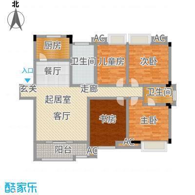 桂竹苑150.30㎡面积15030m户型