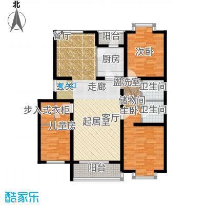 华宇花园1-11户型
